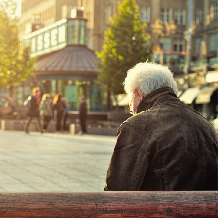高齢化社会が進む日本